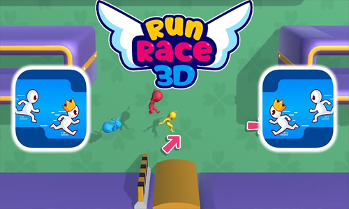 Run Race 3D Free-to-Play Competitive Parkour Game